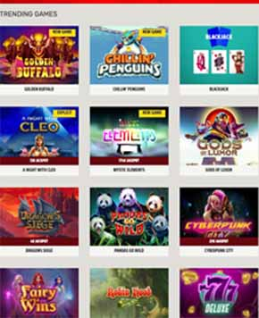 Ignition casino games list