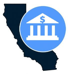 California banking icon