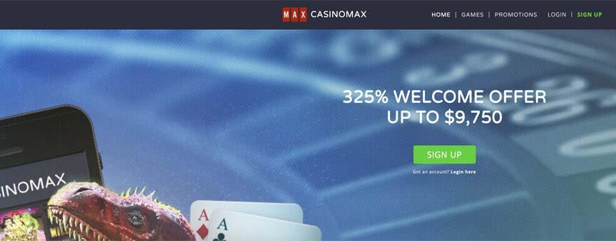 Casinomax screenshot